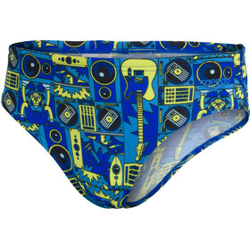 speedo Allover Briefs Boys, dj black/lapis/light adriatic